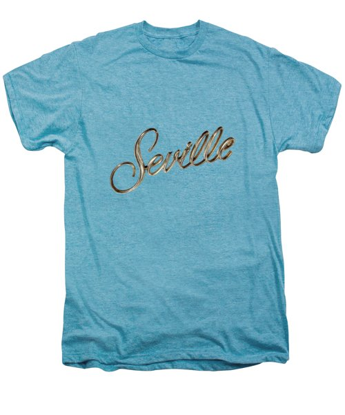 Cadillac Seville Emblem Men's Premium T-Shirt by YoPedro