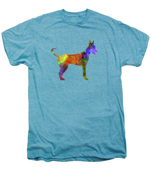 Canarian Warren Hound In Watercolor Men's Premium T-Shirt by Pablo Romero