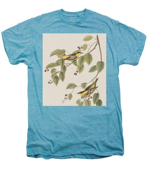 Carbonated Warbler Men's Premium T-Shirt by John James Audubon