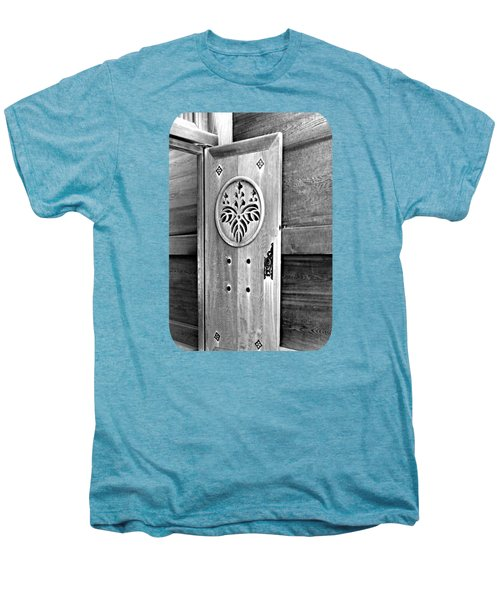 Castle Door Men's Premium T-Shirt by Ethna Gillespie