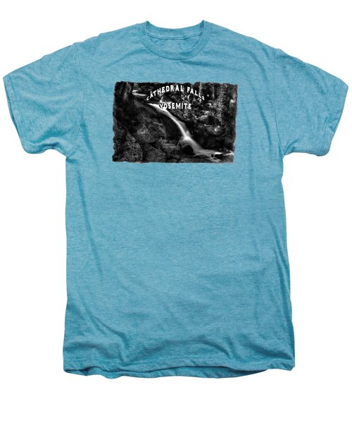 Cathedral Falls From The Tioga Pass Road Men's Premium T-Shirt by Roger Passman