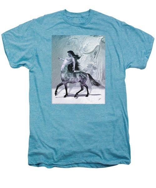 Centaur Cool Tones Men's Premium T-Shirt by Quim Abella