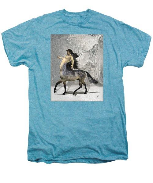 Centaur Warm Tones Men's Premium T-Shirt by Quim Abella