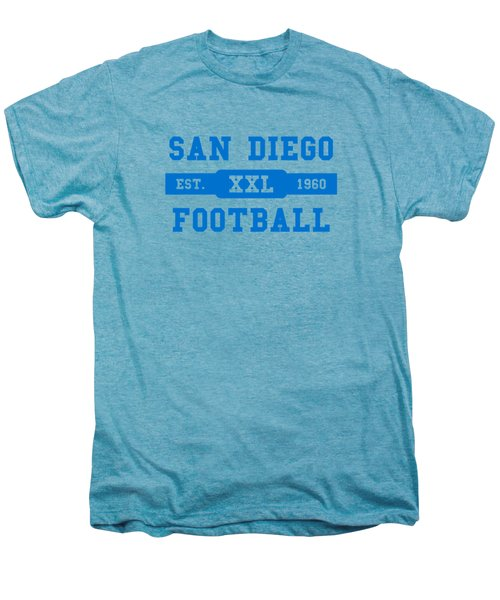 Chargers Retro Shirt Men's Premium T-Shirt by Joe Hamilton