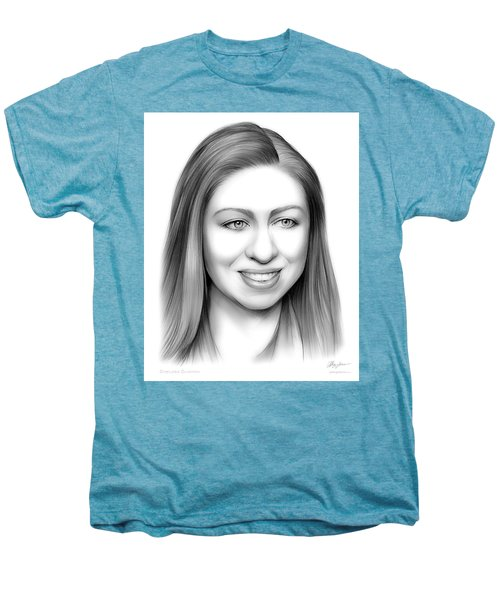 Chelsea Clinton Men's Premium T-Shirt by Greg Joens