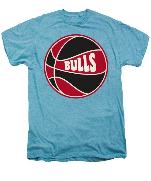 Chicago Bulls Retro Shirt Men's Premium T-Shirt by Joe Hamilton