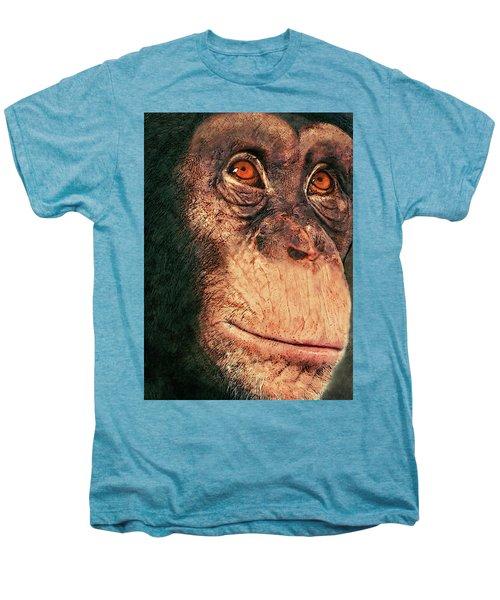 Chimp Men's Premium T-Shirt by Jack Zulli