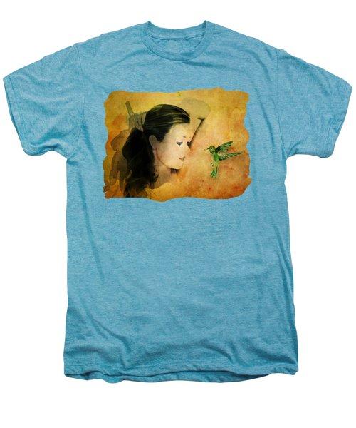 Close Encounter Men's Premium T-Shirt by Terry Fleckney