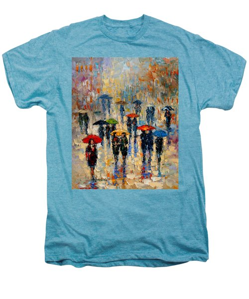 Cloudy Day Men's Premium T-Shirt by Andre Dluhos