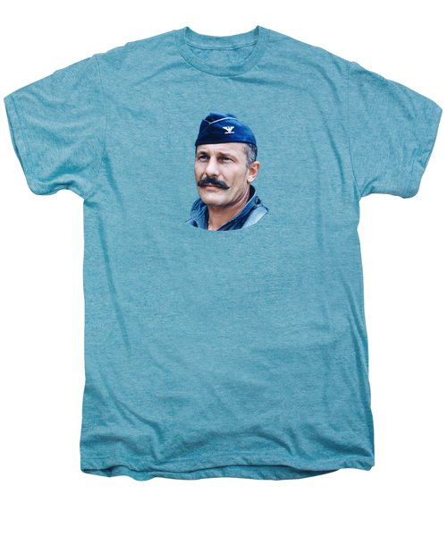 Colonel Robin Olds  Men's Premium T-Shirt by War Is Hell Store