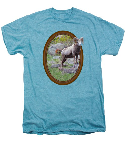 Colorado Bighorn Men's Premium T-Shirt by Shane Bechler