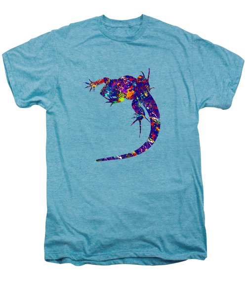Colourful Lizard -2- Men's Premium T-Shirt by Bamalam  Photography
