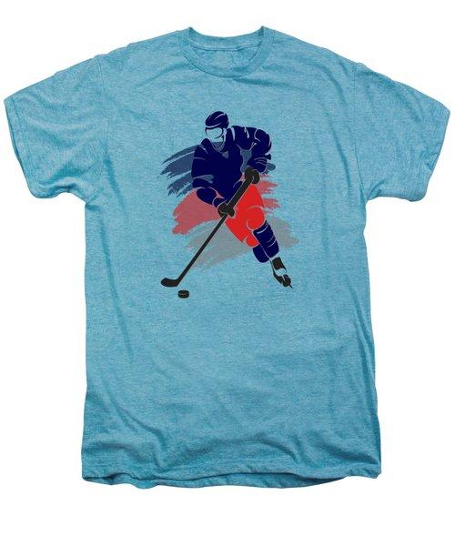 Colubus Blue Jackets Player Shirt Men's Premium T-Shirt by Joe Hamilton