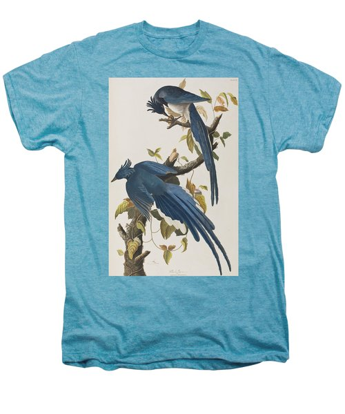 Columbia Jay Men's Premium T-Shirt by John James Audubon