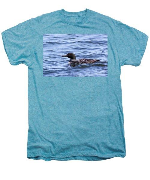 Common Loon Men's Premium T-Shirt by Teresa Zieba