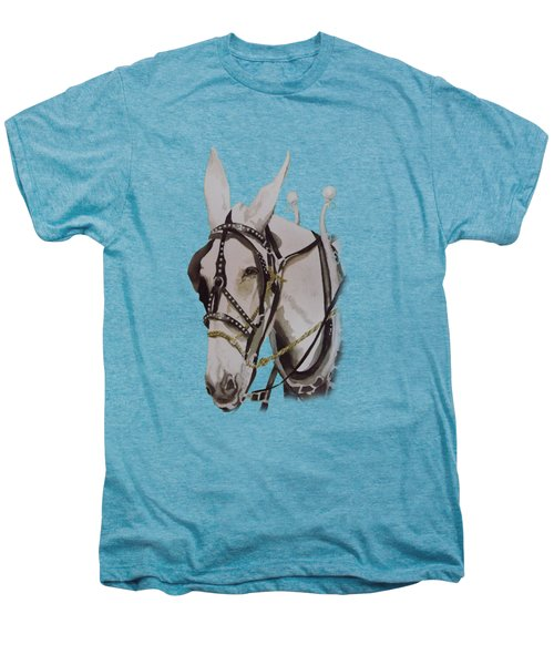 Connie The Mule Men's Premium T-Shirt by Gary Thomas