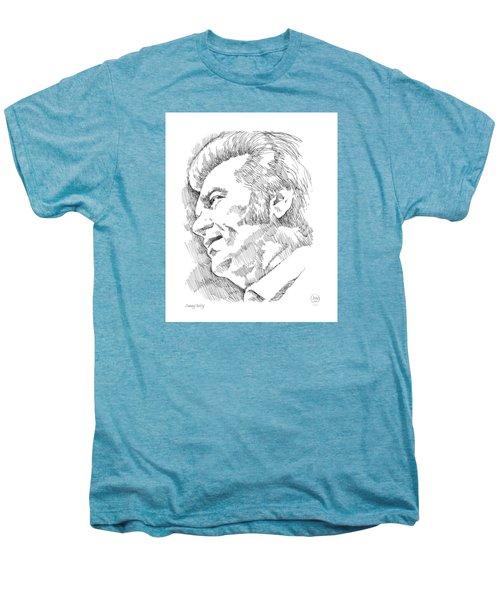 Conway Twitty Men's Premium T-Shirt by Greg Joens