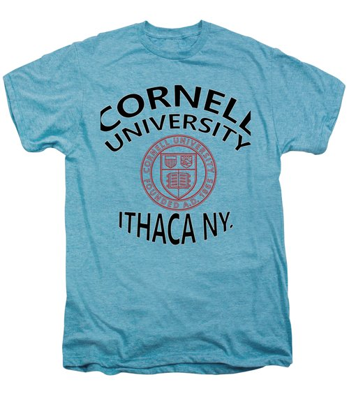 Cornell University Ithaca N Y Men's Premium T-Shirt by Movie Poster Prints