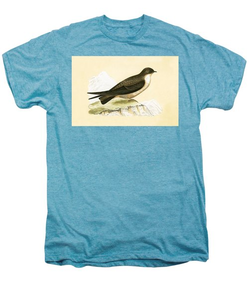 Crag Swallow Men's Premium T-Shirt by English School