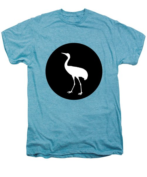 Crane Men's Premium T-Shirt by Mordax Furittus