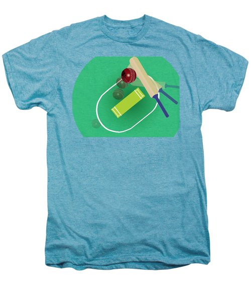 Cricket Men's Premium T-Shirt by Smita Kadam