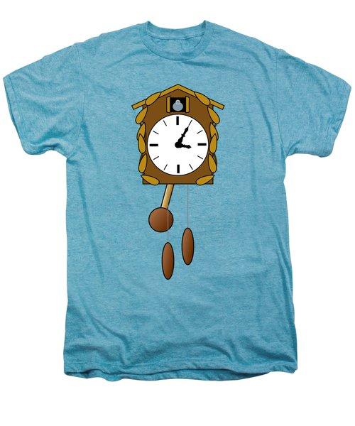 Cuckoo Clock Men's Premium T-Shirt by Miroslav Nemecek