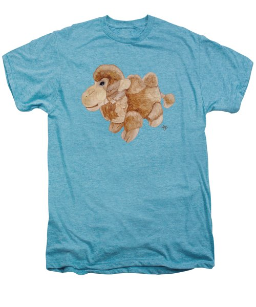 Cuddly Camel Men's Premium T-Shirt by Angeles M Pomata