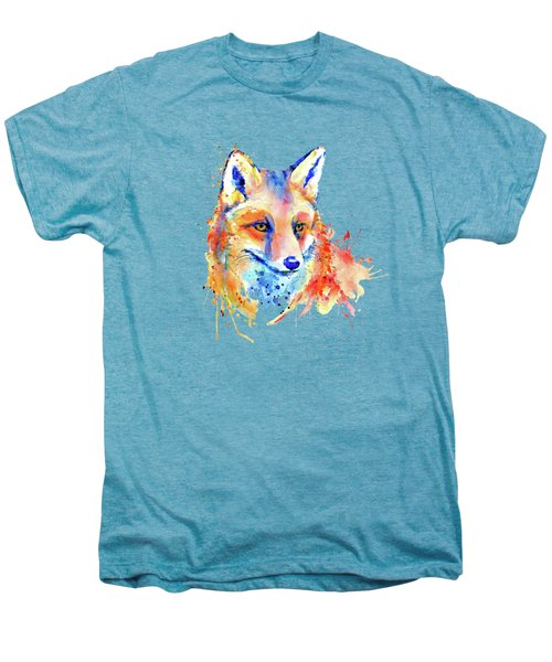 Cute Foxy Lady Men's Premium T-Shirt by Marian Voicu
