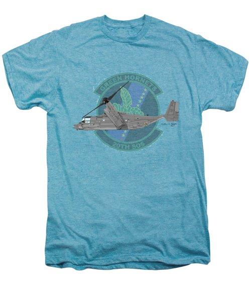 Cv-22b Osprey 20sos Men's Premium T-Shirt by Arthur Eggers