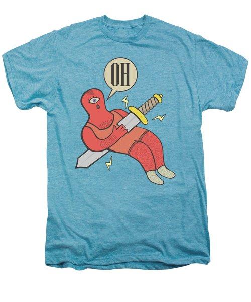 Cyclop Men's Premium T-Shirt by LE BERRE Jean-Baptiste