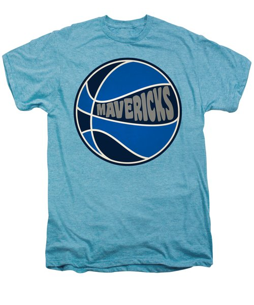 Dallas Mavericks Retro Shirt Men's Premium T-Shirt by Joe Hamilton