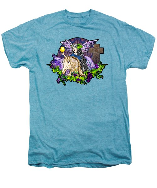 Dark Tales Of Fairy Eve And The Dragons Of Eden Men's Premium T-Shirt by Janice Moore