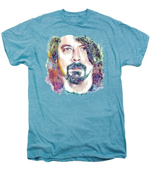 Dave Grohl Close-up Men's Premium T-Shirt by Marian Voicu