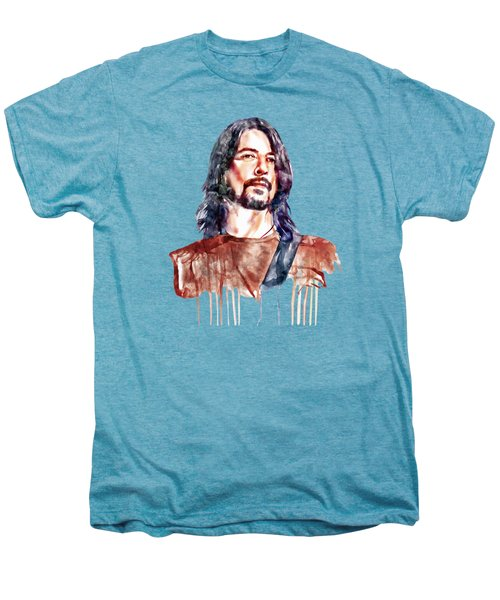 Dave Grohl  Men's Premium T-Shirt by Marian Voicu