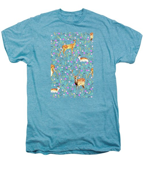Deers Men's Premium T-Shirt by Uma Gokhale