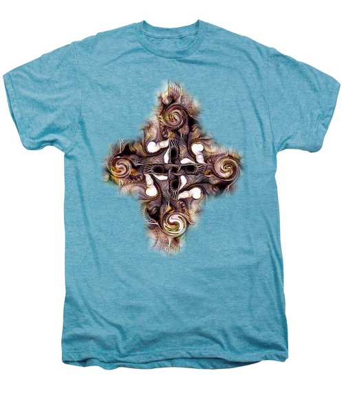 Desert Cross Men's Premium T-Shirt by Anastasiya Malakhova