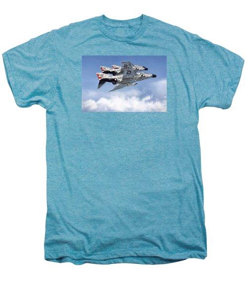 Diamonback Echelon Men's Premium T-Shirt by Peter Chilelli