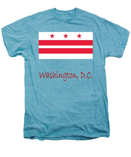 District Of Columbia Flag Men's Premium T-Shirt by Frederick Holiday