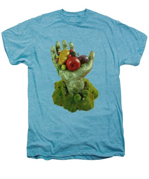 Divine Nutrition Men's Premium T-Shirt by Przemyslaw Stanuch
