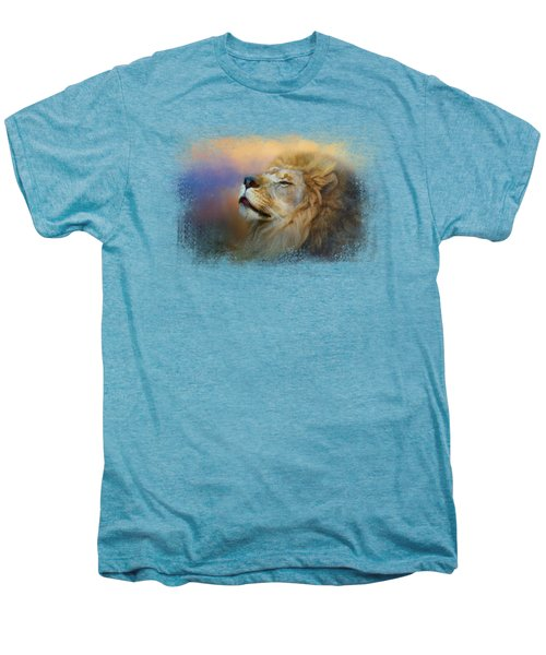 Do Lions Go To Heaven? Men's Premium T-Shirt by Jai Johnson