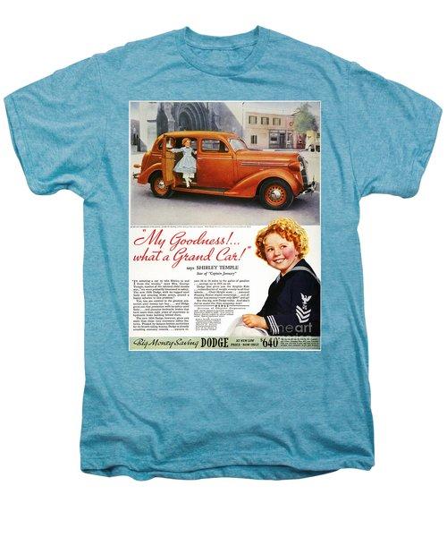 Dodge Automobile Ad, 1936 Men's Premium T-Shirt by Granger