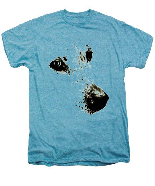 Dog Face Men's Premium T-Shirt by Frank Tschakert
