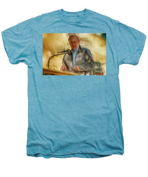 Donald Rumsfeld Men's Premium T-Shirt by Brian Reaves