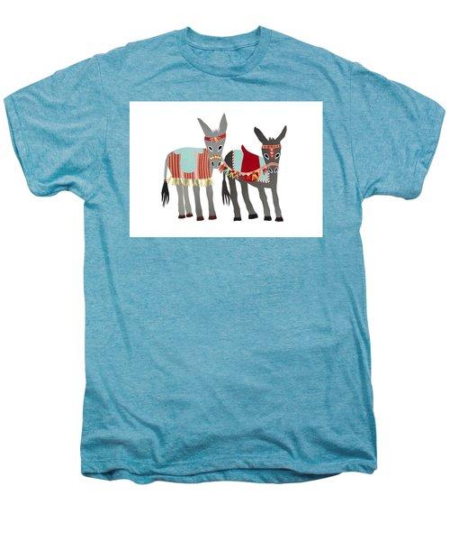 Donkeys Men's Premium T-Shirt by Isoebl Barber