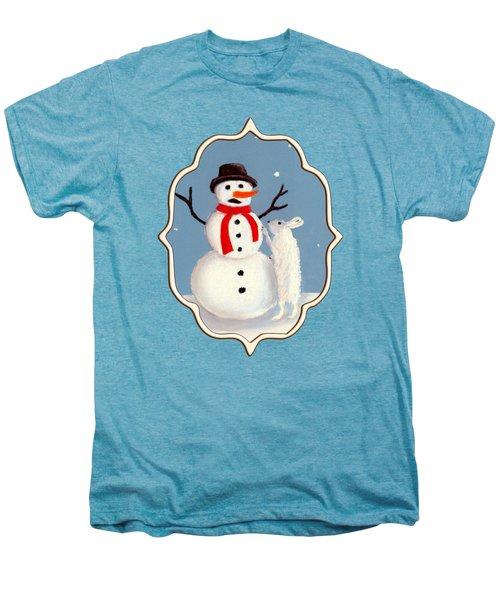 Don't Eat My Nose Men's Premium T-Shirt by Anastasiya Malakhova