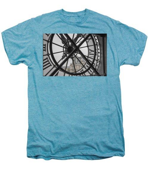 D'orsay Clock Paris Men's Premium T-Shirt by Joan Carroll