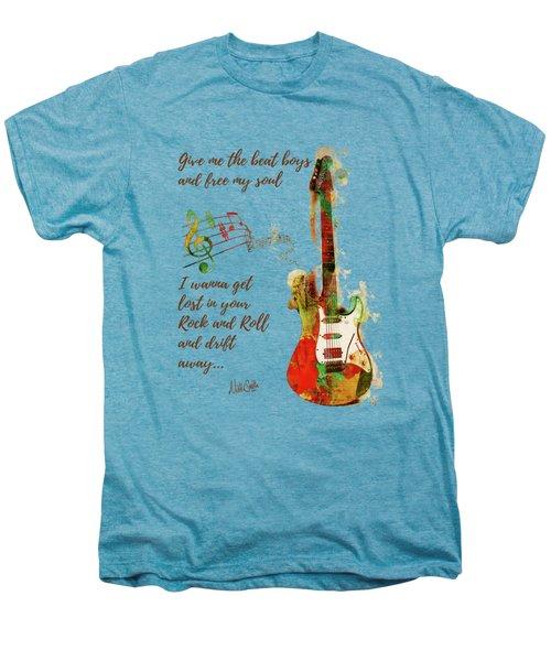 Drift Away Men's Premium T-Shirt by Nikki Marie Smith