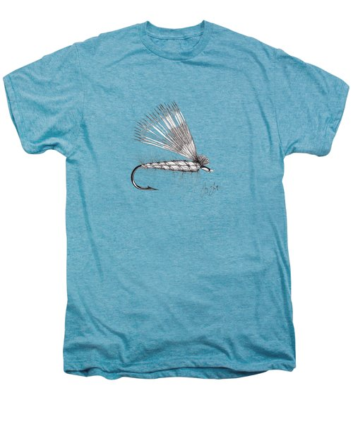 Dry Fly Men's Premium T-Shirt by Jay Talbot