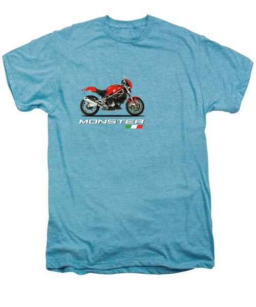 Ducati Monster S4 Sps Men's Premium T-Shirt by Mark Rogan