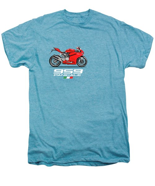 Ducati Panigale 959 Men's Premium T-Shirt by Mark Rogan